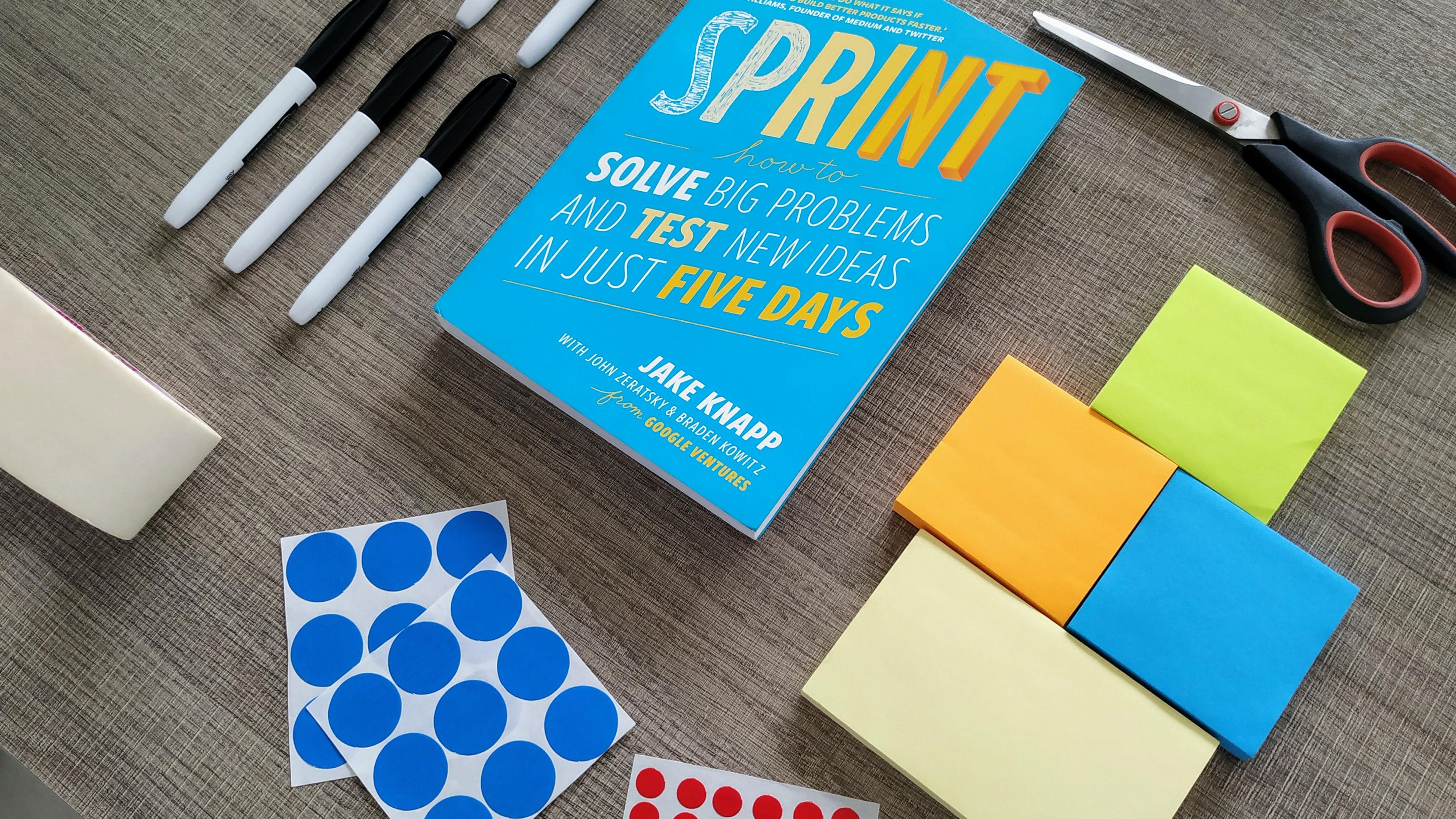 De Design Sprint: wat is het en wat kan het doen voor mijn bedrijf?